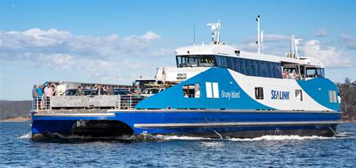 Sealink Travel Group launches new ro-pax ferry