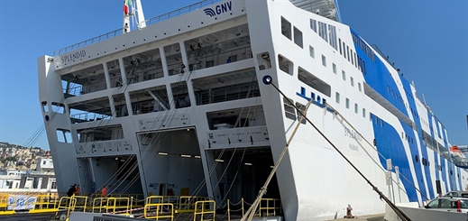 Grandi Navi Veloci converts ferry into floating hospital