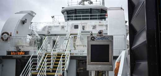 Cavotec to equip two new berths with charging solution for Fjord1