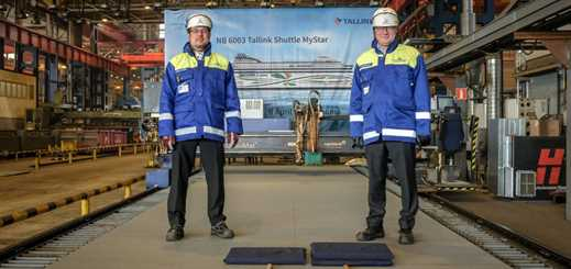 Construction begins on Tallink Grupp's MyStar