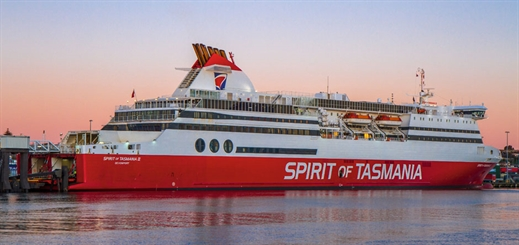 Flying the flag for Tasmania's ferry industry