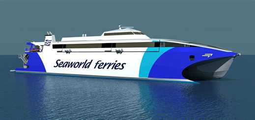 Incat Tasmania to build new Seaworld Express Ferry