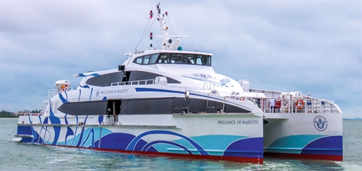 Majestic Fast Ferry: A Singaporean trailblazer