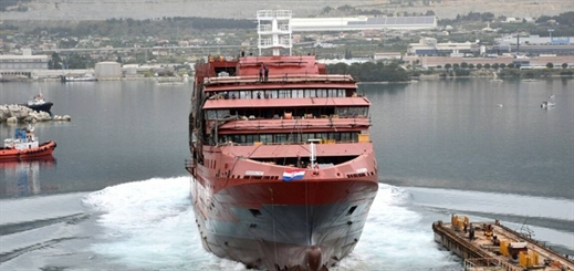 Brodosplit launches polar expedition cruise vessel Ultramarine