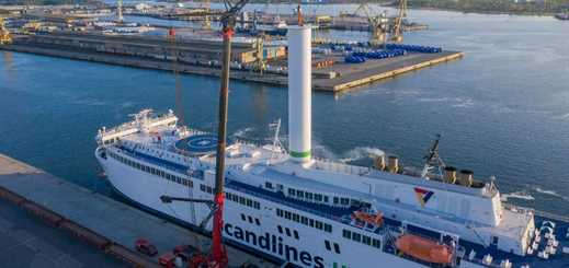 Scandlines installs Norsepower Rotor Sail on Copenhagen