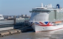 P&O Cruises' Iona arrives in Rotterdam