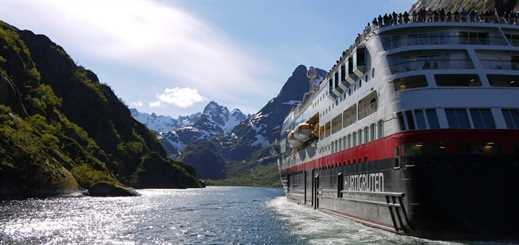 Hurtigruten to sail four new itineraries from Dover