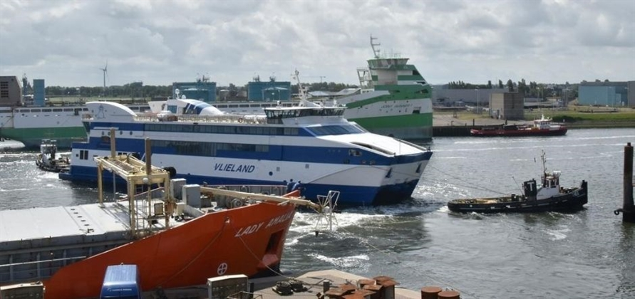 Damen Shiprepair Harlingen completes Vlieland repair project