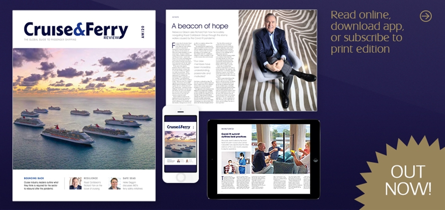 New issue of Cruise & Ferry Review out now!