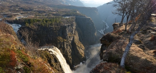 New attraction for cruise guests at Vøringsfossen waterfall