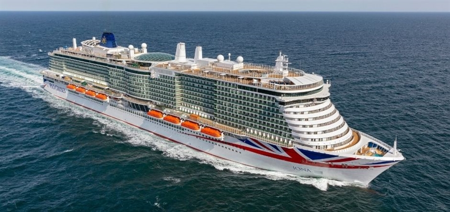 P&O Cruises takes delivery of Iona from Meyer Werft