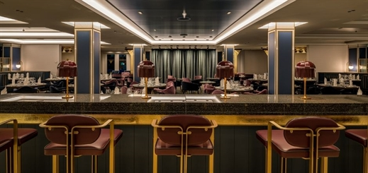 New Saga ship features catering areas installed by Almaco