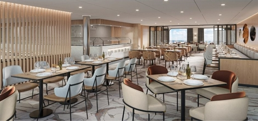 Tillberg Design of Sweden reveals Swan Hellenic interiors