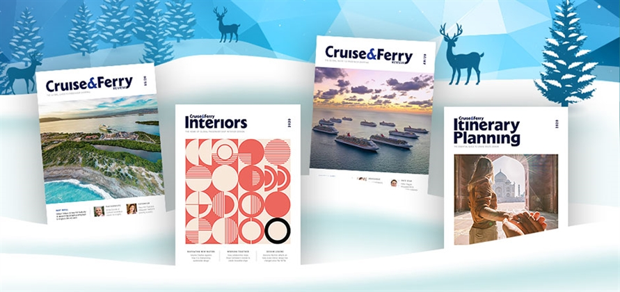 Happy holidays to all Cruise & Ferry readers!