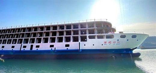 Century Cruises to debut third ship on Yangtze River