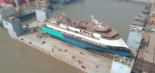 SunStone Ships' Sylvia Earle launched by CMHI