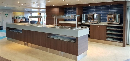 Trimline completes interior refits on trio of P&O Ferries vessels