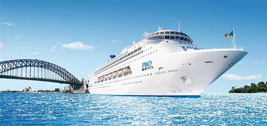 Three P&O ships head to Sydney to mark Australia Day