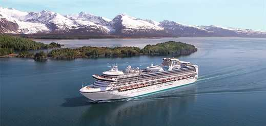 Princess Cruises to offer 105 Alaska cruises in 2016