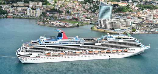 Martinique welcomed 71.3% more cruise passengers in 2014