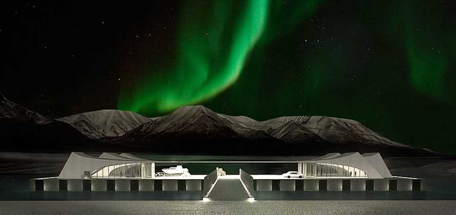 Longyearbyen plans to open a floating cruise terminal in 2017