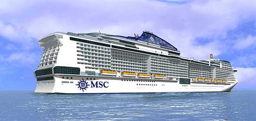 MSC Cruises to name first of its new Vista project ships MSC Meraviglia