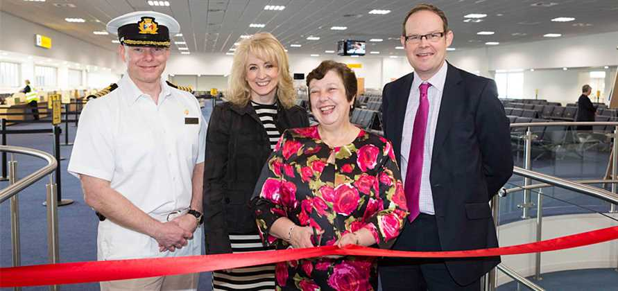 Southampton reopens Mayflower Cruise Terminal after upgrade
