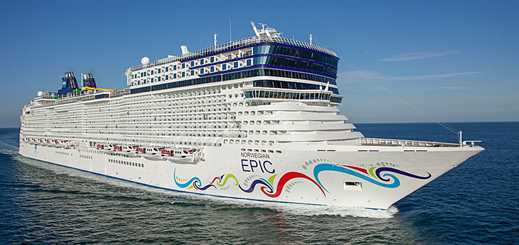 Norwegian Epic arrives in new Barcelona homeport
