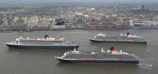Three Queens meet in Liverpool for first time in 175 years