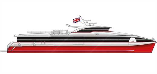 Shemara Refit to build new high-speed ferry for Red Funnel