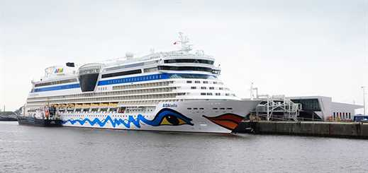 New Hamburg terminal welcomes first cruise ship
