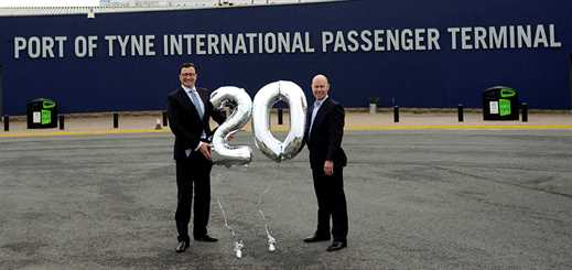 DFDS Seaways marks 20 years of sailing from the Port of Tyne
