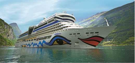 AIDA Cruises lowers carbon dioxide, sulphur oxide and other emissions