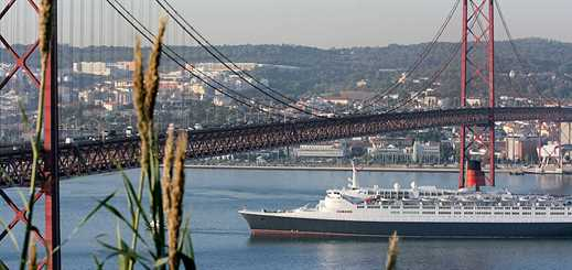 Cruise passenger numbers on the rise in Lisbon