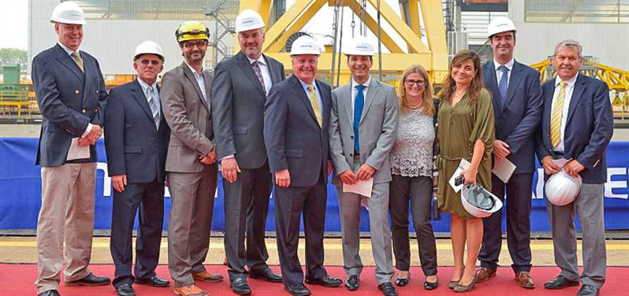 Fincantieri lays keel for Seabourn Encore in Marghera