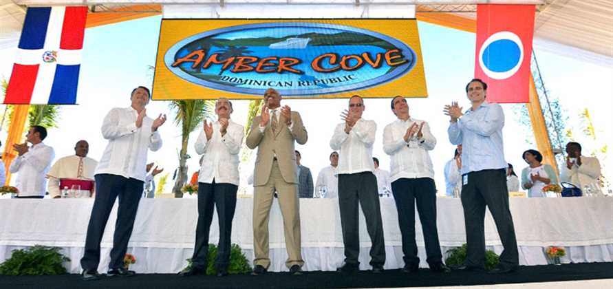 Carnival and Dominican Republic officially inaugurate Amber Cove