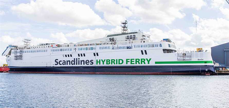 APATEQ supplies scrubber water treatment technology for Scandlines