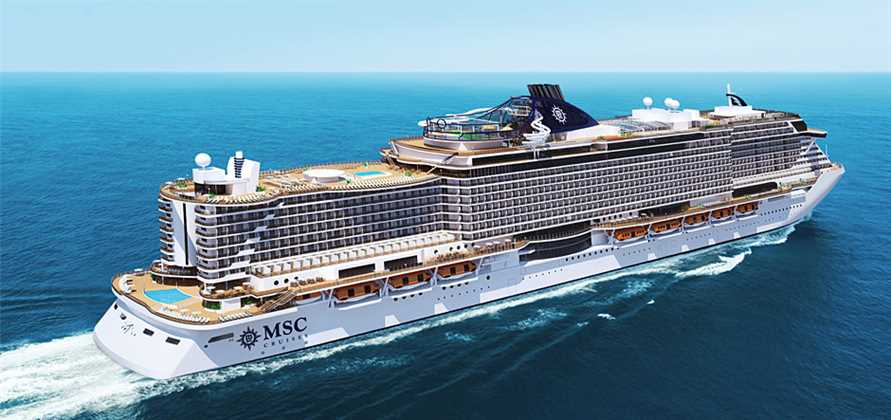 Samsung technology to be used on seven MSC newbuilds