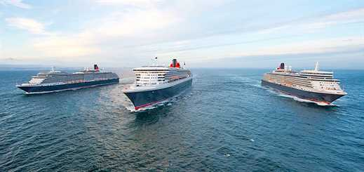 P&O Cruises and Cunard reduce fuel consumption and emissions