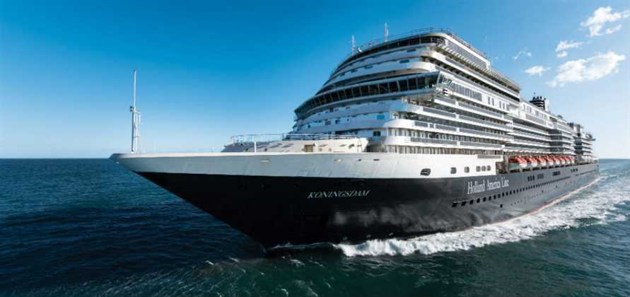 Koningsdam successfully completes sea trials in Italy