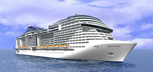 MSC Cruises orders two Meraviglia-Plus ships from STX France