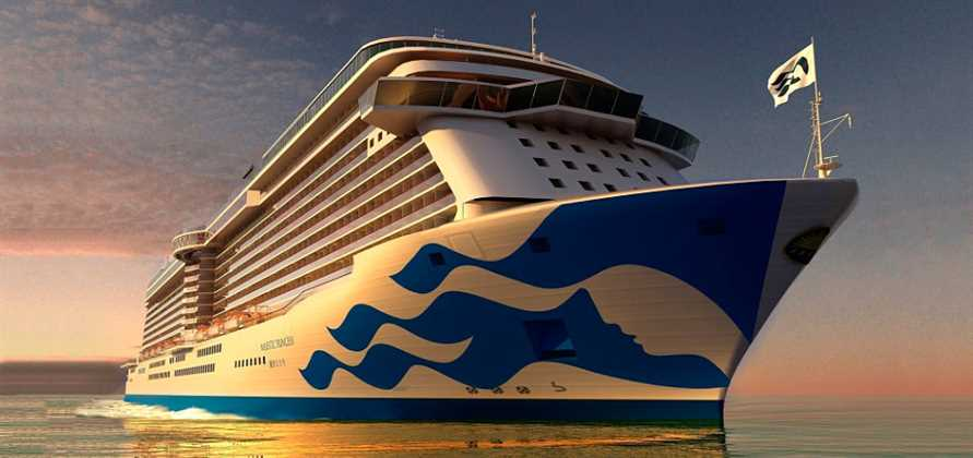 Princess to debut new livery design on Majestic Princess