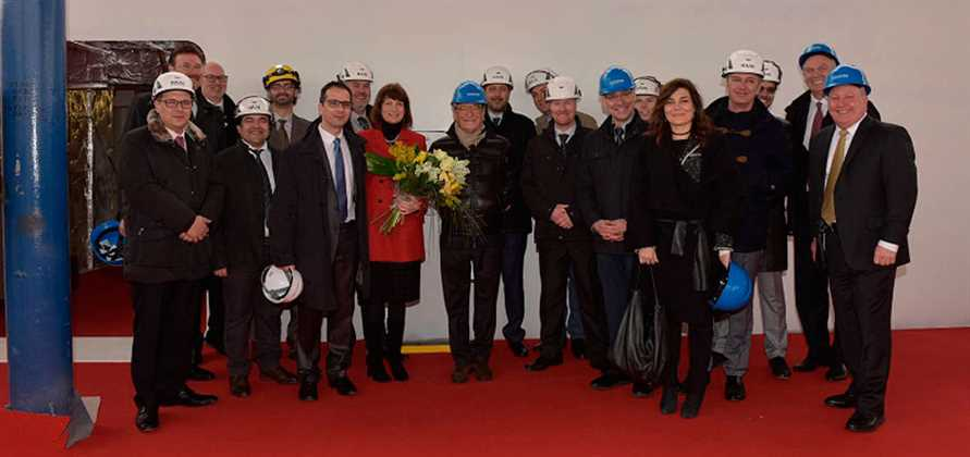 Seabourn holds coin ceremony for Seabourn Encore