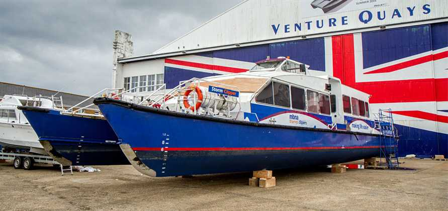 Shemara Refit is to refurbish three MBNA Thames Clippers ferries