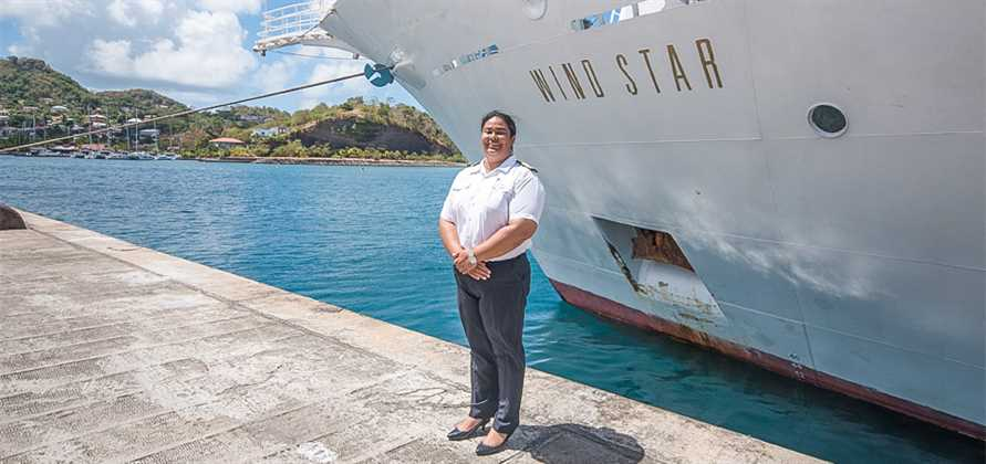 Windstar Cruises names first-ever female captain