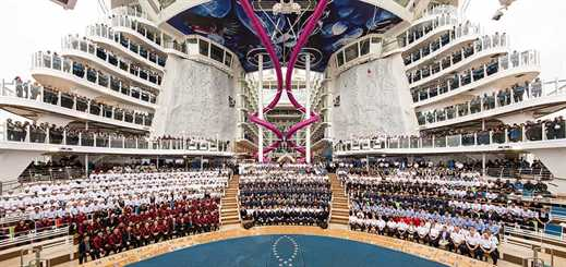 STX France delivers world's largest cruise ship