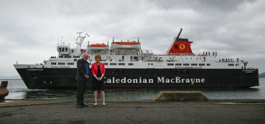 CalMac Ferries secures £900 million ferry contract
