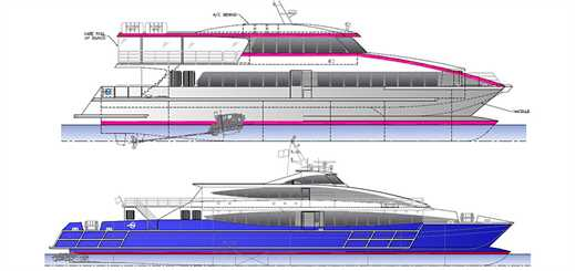 Austal to build three commercial passenger ferries