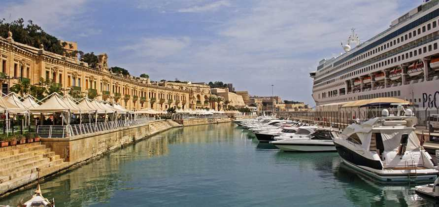 P&O Oceana to homeport at Valletta Cruise Port in 2017
