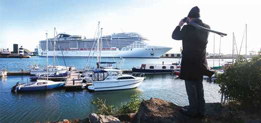 Setting new sustainability standards for cruise ports